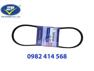 Dây curoa Điều hòa 4PK870 trợ lực Kia Morning, Hyundai Getz 1.1L ( MOBIS)