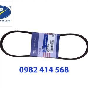 Dây curoa Điều hòa 4PK870 trợ lực Kia Morning- Hyundai Getz 1.1L ( MOBIS)