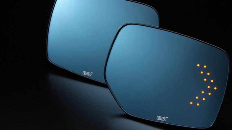 Gương chiếu hậu được cải tiến nhiều tính năng hiện đại