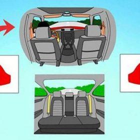 Cách điều chỉnh gương chiếu hậu ô tô
